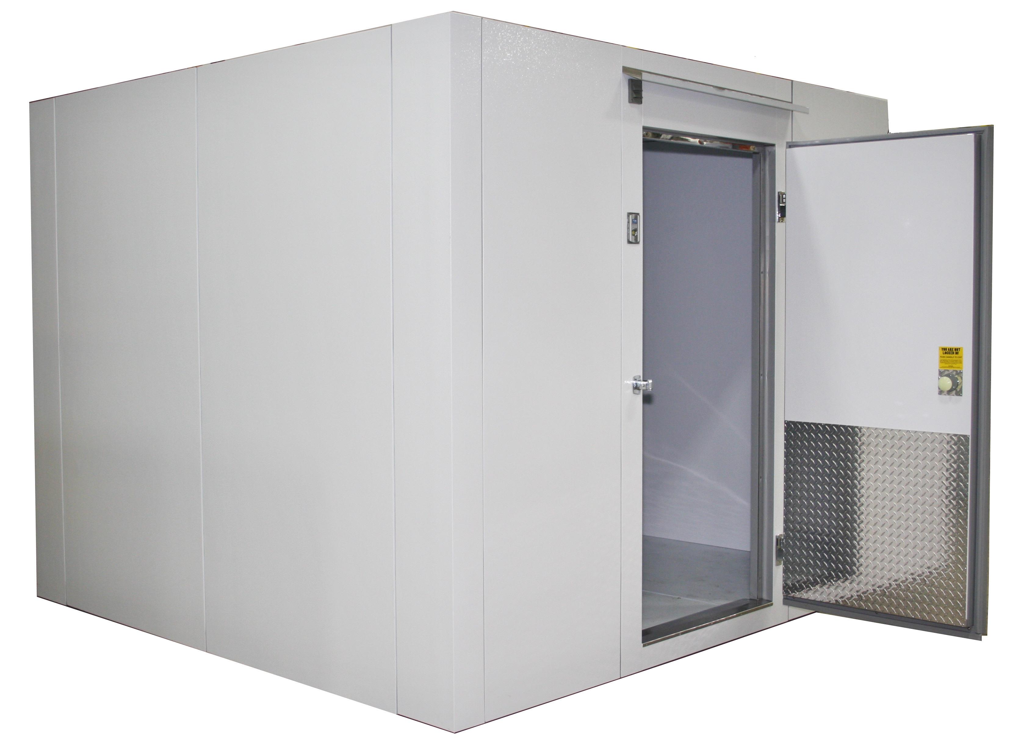Lauro Equipment Custom Walk In Freezer 8 X8 X7 With Floor