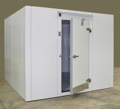 Lauro Equipment Custom Walk-In Freezer 6'x12'x7' with Floor Economic Low Temp Refrigeration Self-Contained