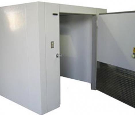 Lauro Equipment Custom Walk-In Cooler 6'x10'x7' No Floor Premium Medium Temp Refrigeration Self-Contained