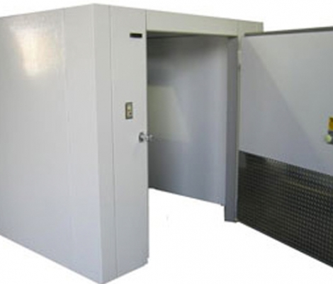 Lauro Equipment Custom Walk-In Cooler 8'x8'x7' No Floor Premium Medium Temp Refrigeration Self-Contained