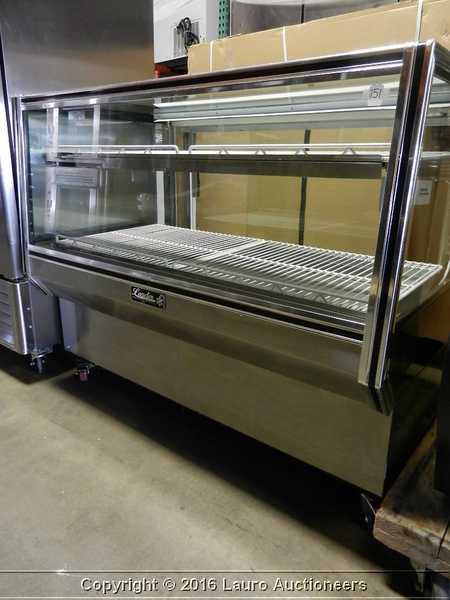 "Leader CBK57D 57"" Dry Bakery Display Case"
