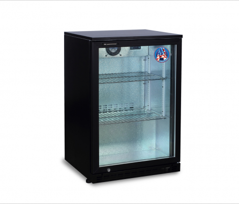 Americool AMBBBS-130 Single Hinged Glass Door Backbar Refrigerator