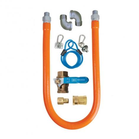 BK Resources BKG-GHC-7548-SCK3 Gas Hose Connector Kit