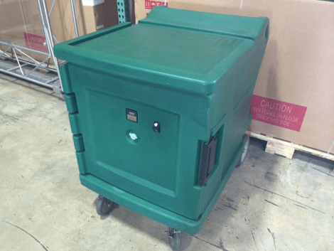 Cambro cmbh1826l Camtherm Electric Mobile Food Holding Cabinet