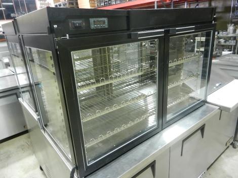 Hatco LFST-48-2X Countertop Merchandising Cabinet