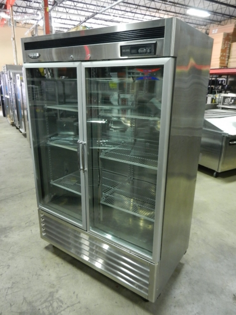 Turbo Air MSR-48G-2 2 Door Glass Reach-In Refrigerator