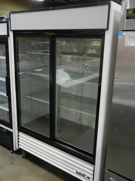 True GDM-47 Sliding Glass Door Refrigerated Merchandiser