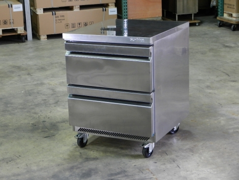 Infrico UC272D 2 Drawer Undercounter Refrigerator