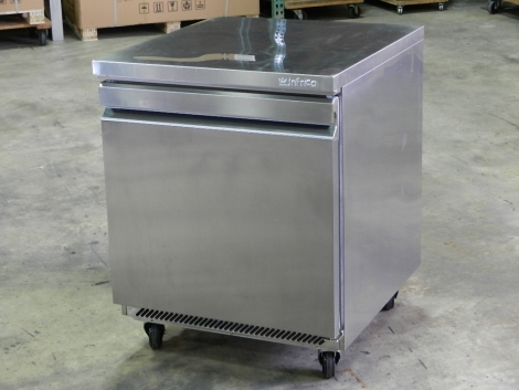 Infrico UC27R 1 Door Undercounter Refrigerator