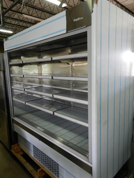 Infrico EML 18 INOX PM2 Air Curtain Grab N Go Mirror Sided Refrigerator