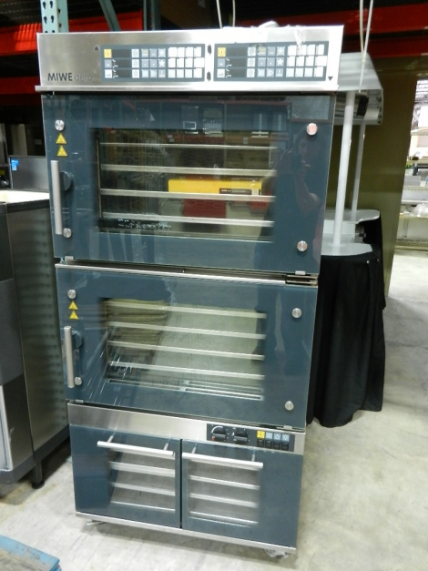 MIWE aero AE4.0604 Doublestack Convection Oven w/Proofer