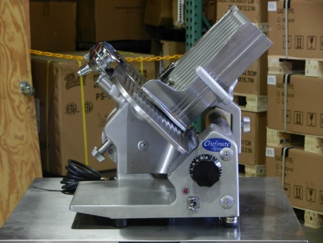 "Globe GC_512 12"" Compact Manual Gravity Feed Slicer"