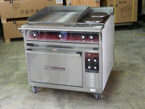 """Southbend SE36D-BBB 24"""" Griddle 2 Burner Range w/Oven Electric"""