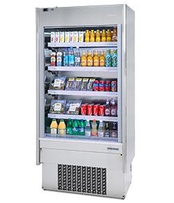 Infrico Merchandiser Open EML 9 INOX PM1