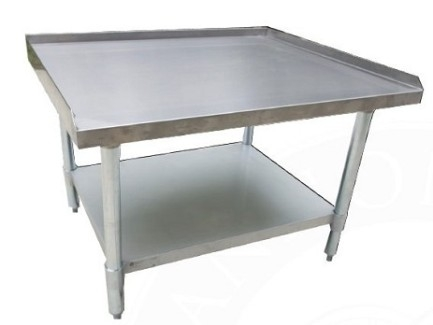 "Serv-Ware ESS3048H-CWP 30""x48"" All Stainless Steel Equipment Stand"