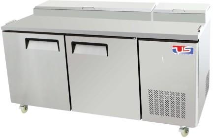 US Refrigeration USPV-67 2 Door Pizza Prep Table