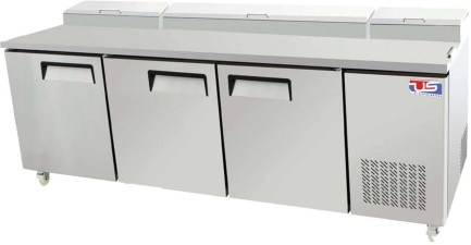 US Refrigeration USPV-93 3 Door Pizza Prep Table