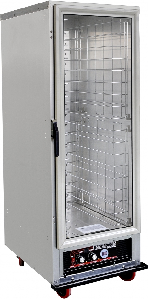 US Cooking USWP-1440 1 Door 25 Rack Warmer/Proofer on Casters