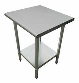 US Stainless USWTS X All Stainless Steel Work Table - Stainless steel table 18 x 24