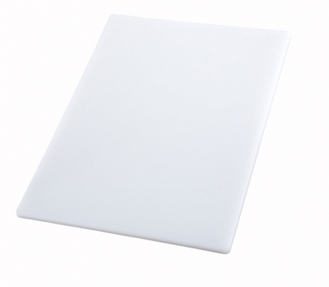 Winco CBWT-1520 White Cutting Board