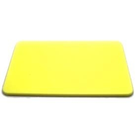 Winco CBYL-1520 Yellow Cutting Board