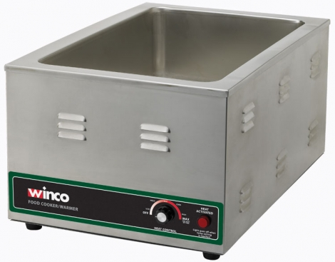 Winco FW-S600 Electric Food Warmer