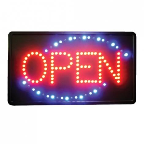 Winco LED-6 LED OPEN Sign