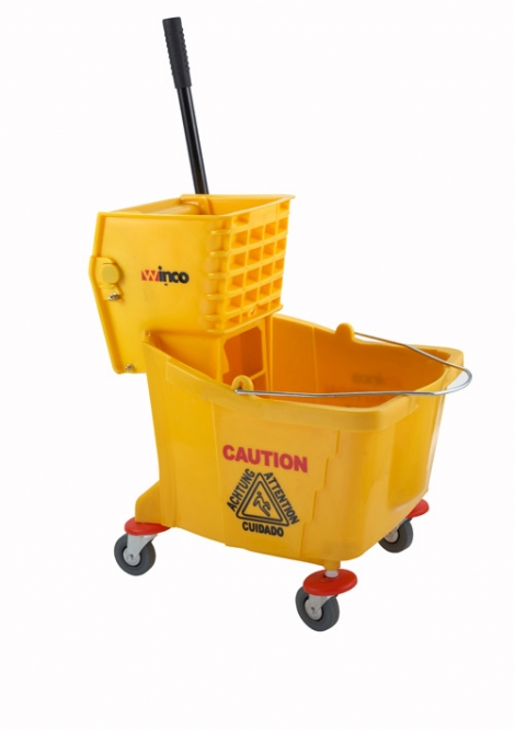 Winco MPB-36 Mop Bucket with Wringer