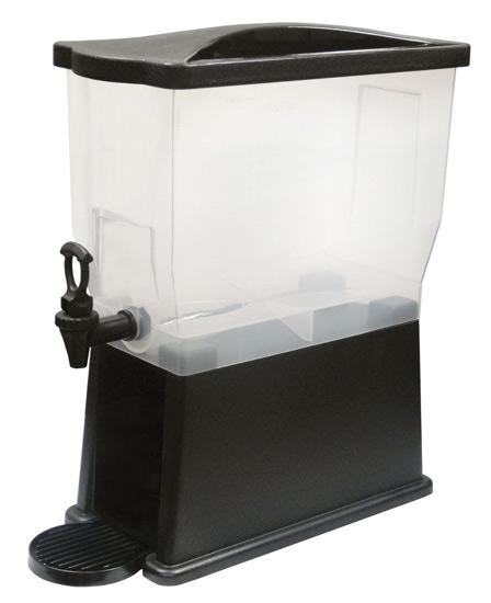 Winco PBD-3 Plastic Beverage Dispenser
