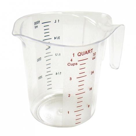 Winco PMCP-100 1qt Measuring Cup