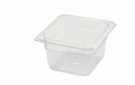 Winco SP7604 1/6 Size Food Pan