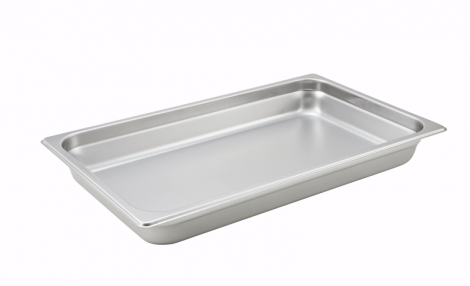 Winco SPJH-102 Full Size Food Pan