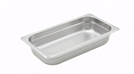 Winco SPJH-302 1/3 Size Food Pan