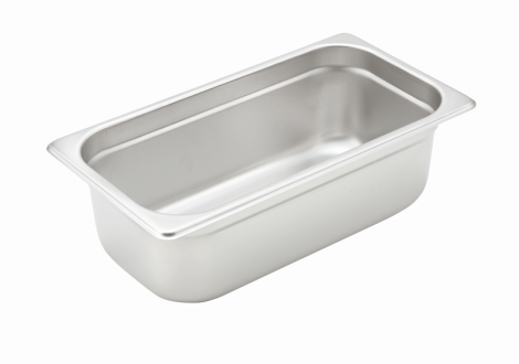 Winco SPJH-304 1/3 Size Food Pan