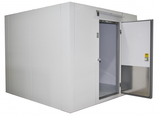 Lauro Equipment Custom Walk In Freezer 8 X8 X7 With Floor