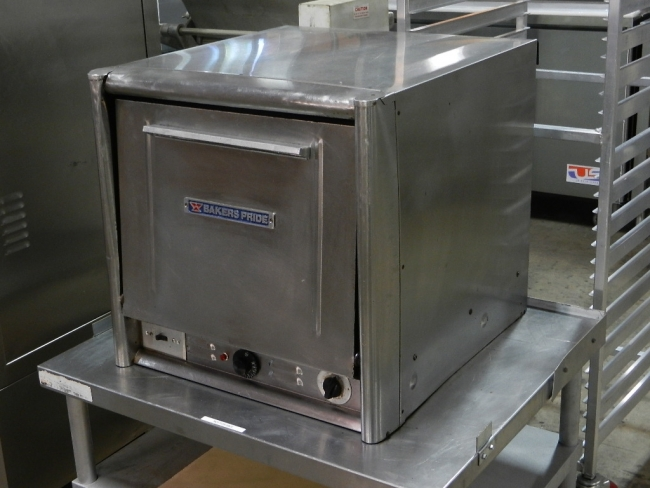 Bakers Pride BOCS Countertop Double Deck Electric Pizza Oven - Lauro ...