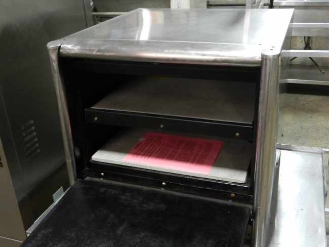 Bakers Pride Bocs Countertop Double Deck Electric Pizza