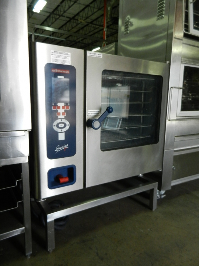 how to clean combi oven