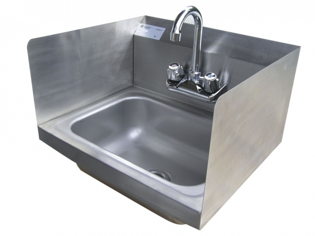 ... Wall Mount Stainless Steel Hand Sink W/ · Zoom