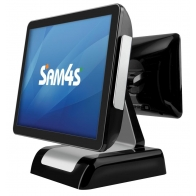 Sam4s Titan-150 Fanless POS Terminal with True Flat Touch Screen