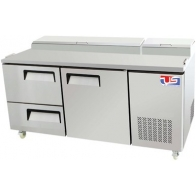 US Refrigeration USPV-67-12D 2 Drawer Pizza Prep Table