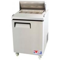 US Refrigeration USSMV-28 1 Door Mega Top Salad Prep Table