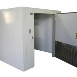 Lauro Equipment Custom Walk-In Cooler 6'x8'x7' No Floor Premium Medium Temp Refrigeration Self-Contained