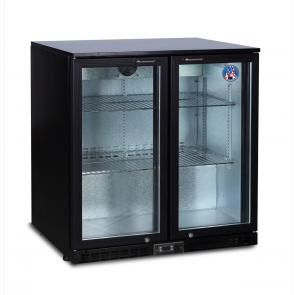 Americool AMBBBD-230 Double Hinged Glass Door Backbar Refrigerator