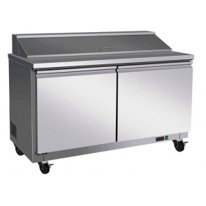Americool AMSPT-60 2 Door Salad Prep Table