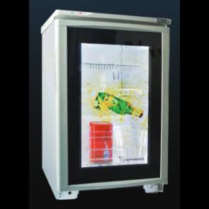 Americool AMUSD-220 Transparent LCD Beverage Refrigerator
