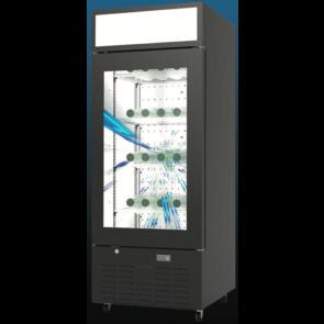 Americool AMVSD-400 Transparent LCD Beverage Refrigerator