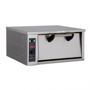 "Marsal & Sons CT301 Countertop Single Electric Two Deck Oven (2) 18"" Pie Capacity"