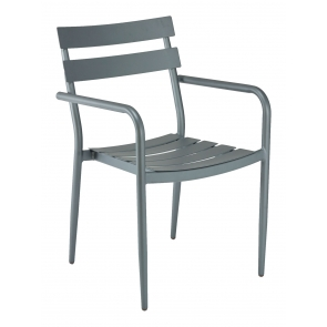 Florida Seating DC-200A Stackable Outdoor Arm Chair