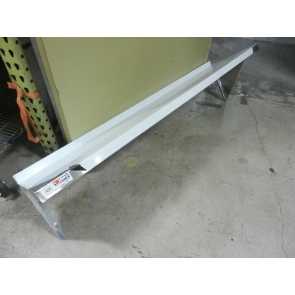 "US Stainless USWS-1460-418 14""x60"" Stainless Steel Wall Mount Overshelf"